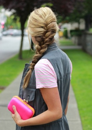 Easy-French-Braided-Hairstyles